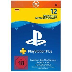 PlayStation Plus 12 Monate Mitgliedschaft für 42€ [eBay]