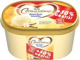 [Norma] Langnese Cremissimo Bourbon-Vanille Eis 1.500ml für 1,83€
