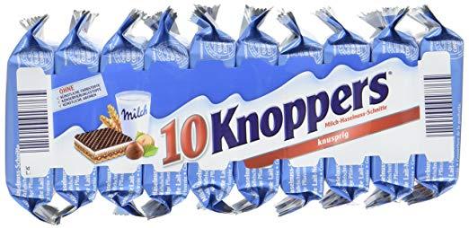 [real] Knoppers 10er-Packung (8+2 gratis) für 1,55€