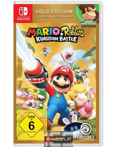 Mario + Rabbids: Kingdom Battle - Gold Edition (Switch) für 29,99€ inkl. Versand (Gamesflat)