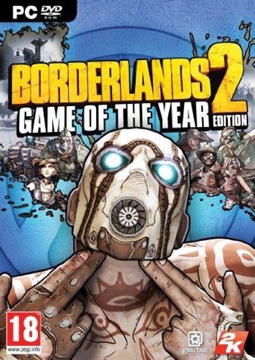 Borderlands 2 - Game of the Year Edition (Steam) für 4,59€ (CDkeys)