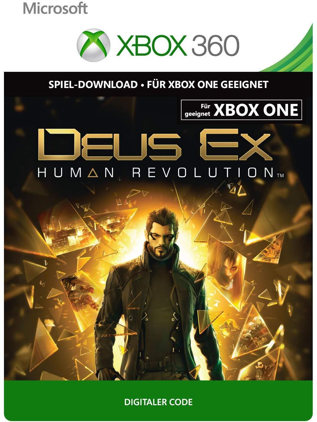 Deus Ex: Human Revolution (Xbox One/Xbox 360) für 1,49€ (Xbox Store)