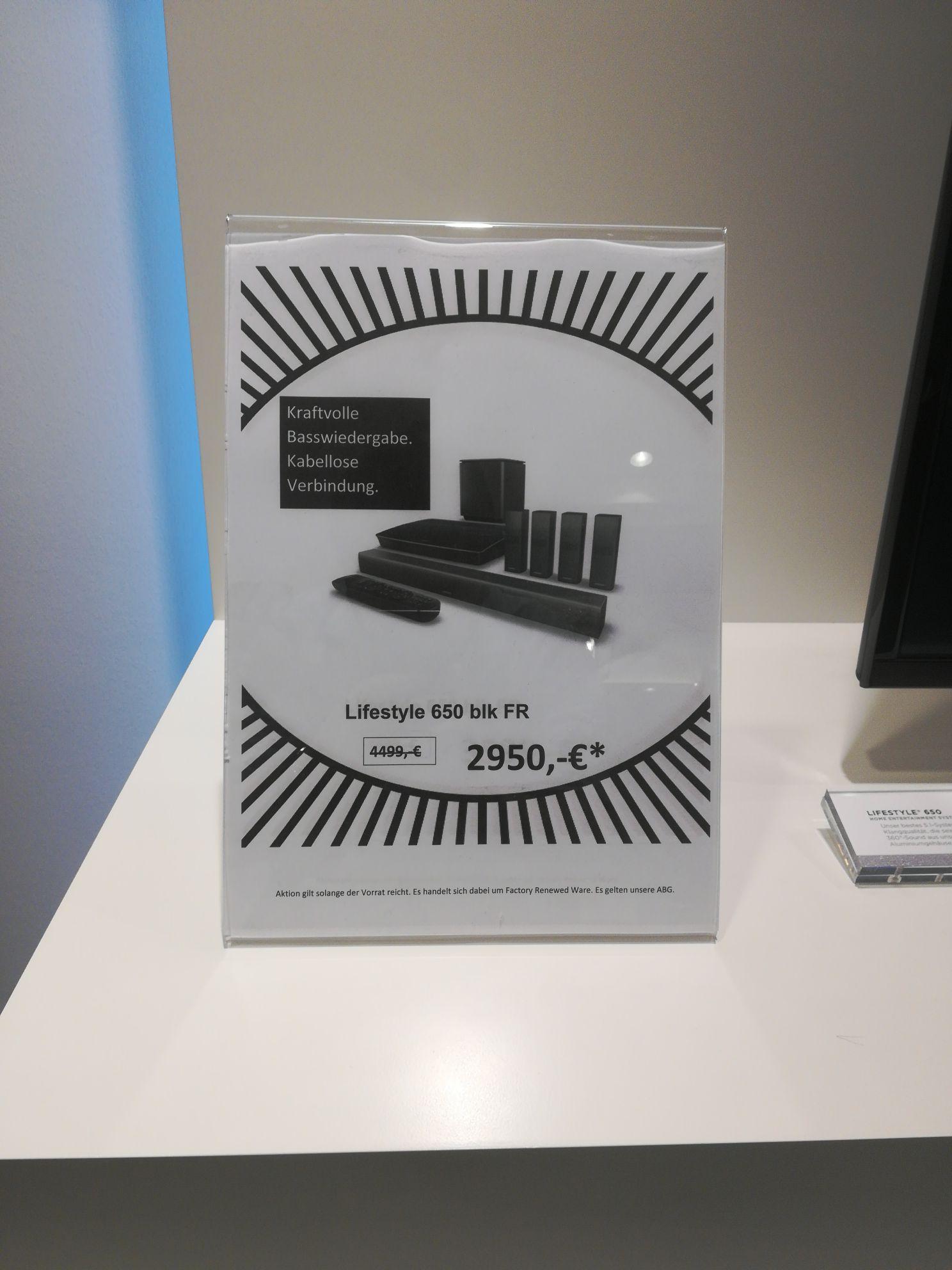 BOSE Lifestyle 650 ( Neu ) schwarz/weiß