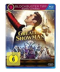 Greatest Showman (Blu-ray) für 6,50€ (Amazon Prime & Müller)