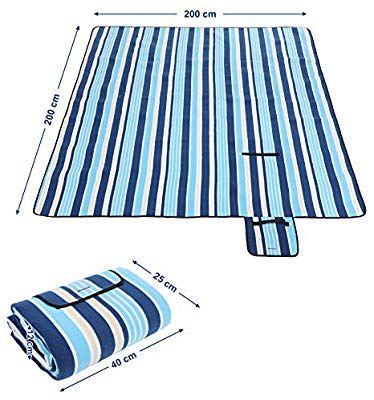 [Blitzangebote, Amazon Prime] 2m x 2m Picknickdecke aus Fleece