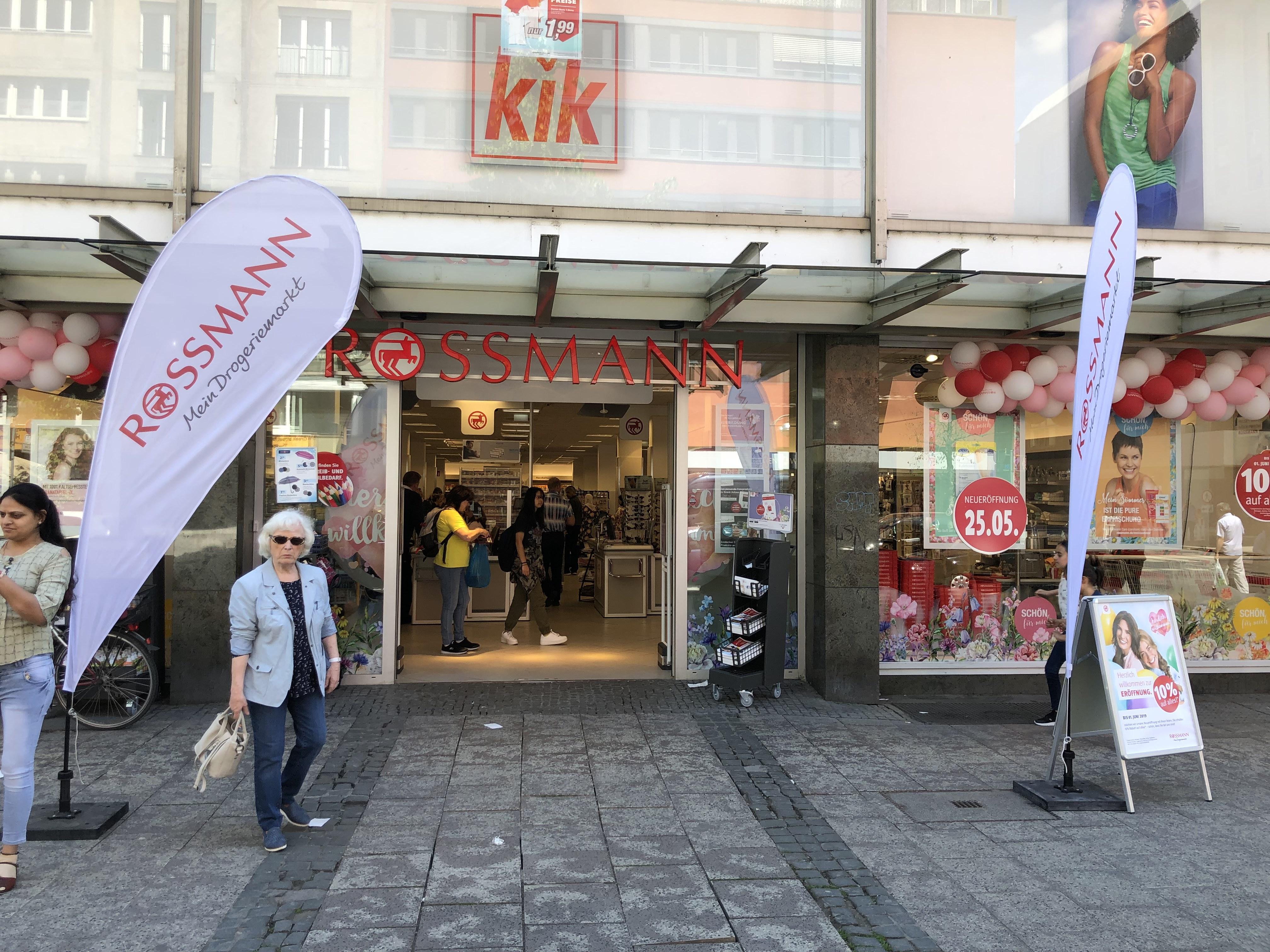 (Lokal) Neueröffnung Rossmann Frankfurt Konstablerwache