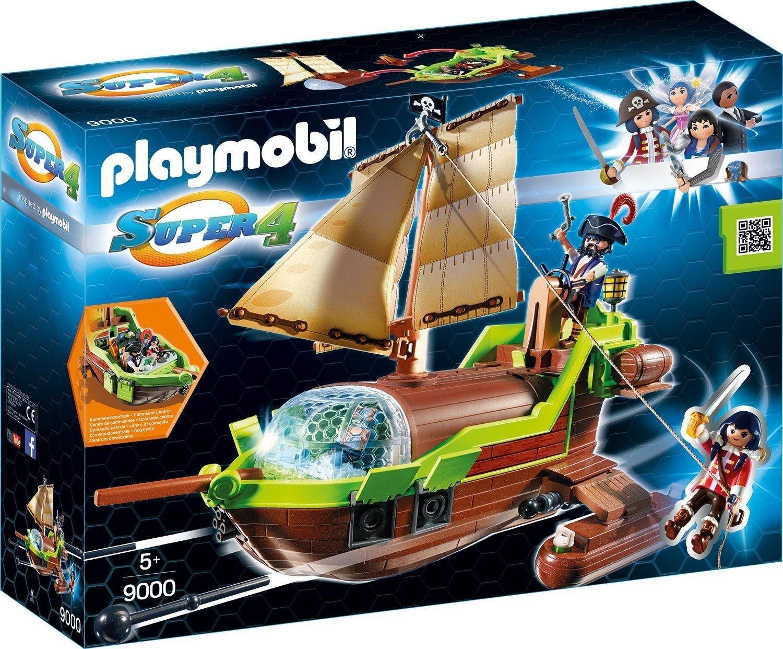 Playmobil 9000 - Piraten-Chamäleon mit Ruby schwimmfähig mit funktionsfähigen Kanonen mit 2 Figuren und viel Zubehör für 12,99€ mit Prime