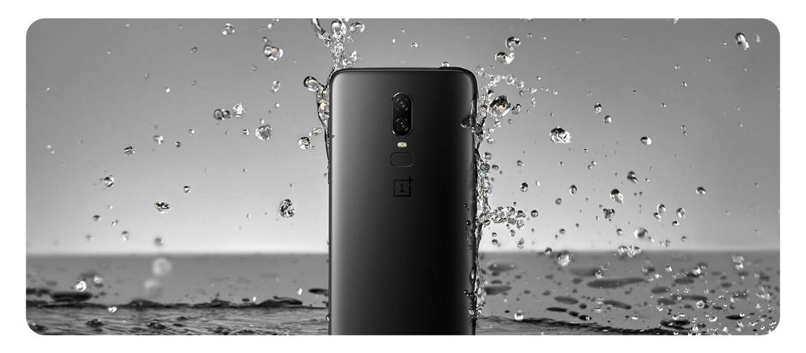 Smartphone OnePlus 6 8/256GB Dual SIM Schwarz 5011100388 (A6003)