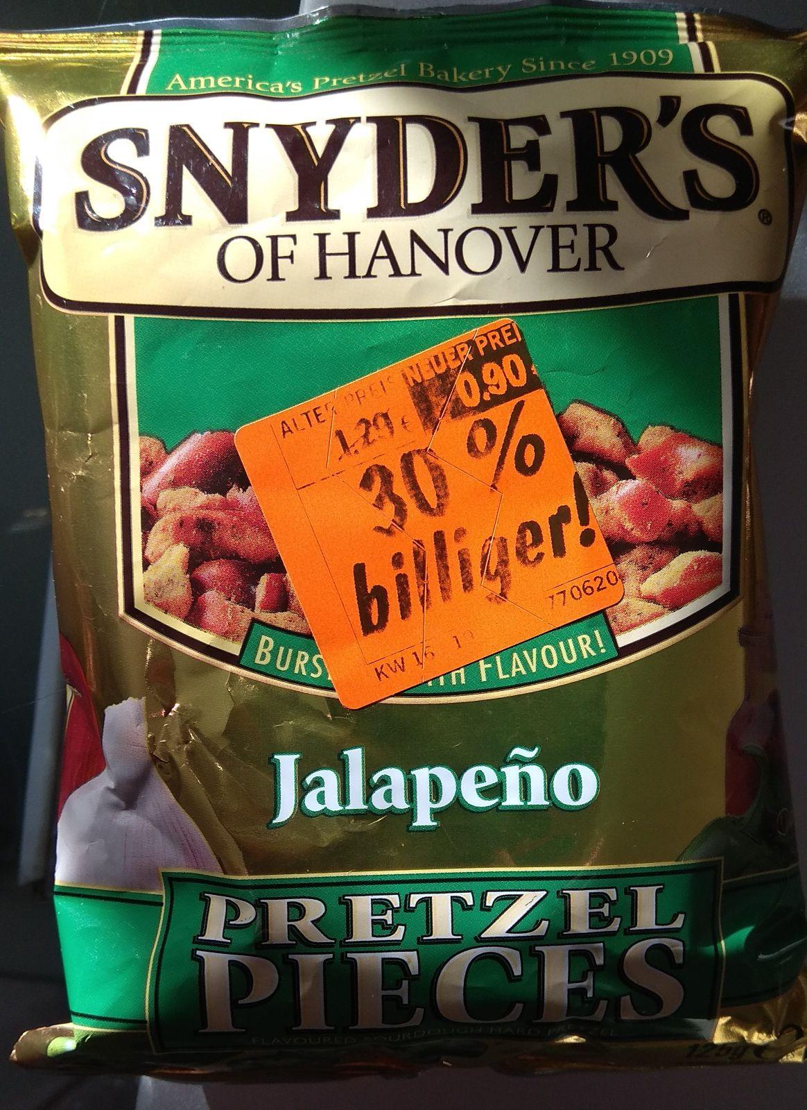 """[LIDL Gau-Odernheim] """"Snyder's Pretzel Pieces"""" Abverkauf"""