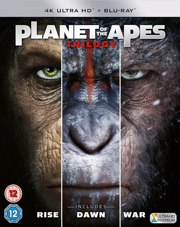 [Zavvi.de] Planet der Affen Trilogy - 4K / UHD Bluray