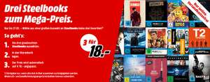 [Media Markt] Multibuy 3 Bluray Steelbooks für 18 Euro