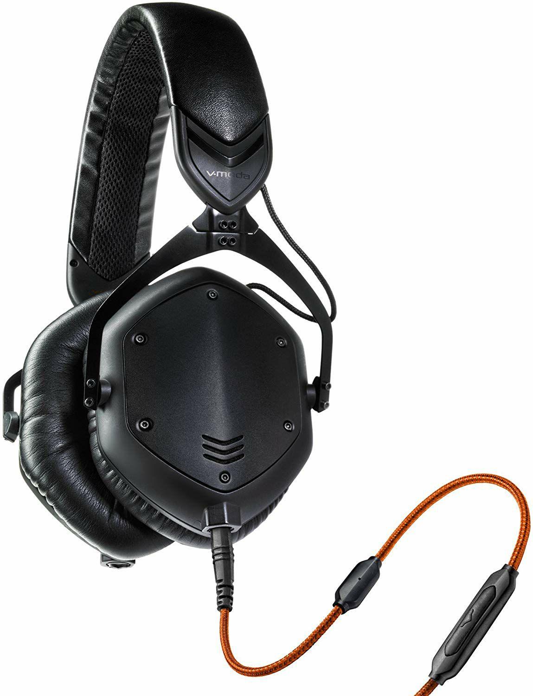 V-Moda Crossfade M-100 Over-Ear Kopfhörer - Geräuschisolierung, Biegbarer Kopfbügel mit Mikrofonkabel (Amazon)