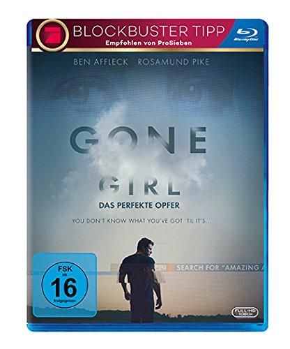 Gone Girl - Das perfekte Opfer (Blu-ray + UV Copy) für 4,25€ bzw. 3,62€ (Müller)