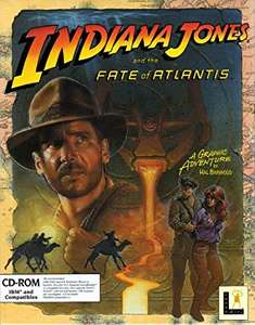"""""""Indiana Jones® and the Fate of Atlantis"""" und """"The Dig"""" kostenlos @ Discord"""