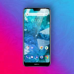 """Nokia 7.1 32/3GB - Snapdragon 636 - 12MP/5MP Kamera - NFC: Google Pay - 5,84"""" FHD Display - Android One"""