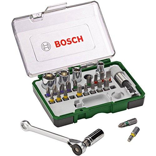 Bosch 27tlg. Schrauberbit- und Ratschen-Set [Amazon Prime]