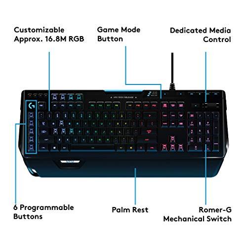 [Amazon.de] Logitech G910 Mechanische Gaming-Tastatur (Orion Spectrum, Deutsches Tastaturlayout)