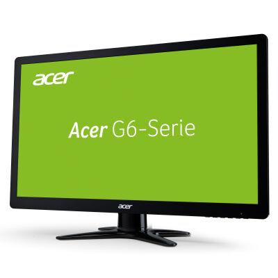 Acer G246HLG 61 cm (24 Zoll) TN 60Hz Monitor (VGA, DVI, HDMI, 1ms Reaktionszeit, 1920x1080, EEK A) schwarz