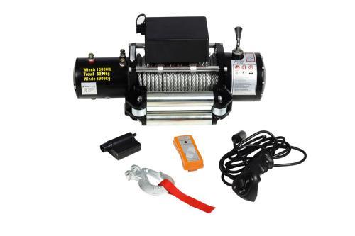 Seilwinde / Motorwinde 12V 5909kg mit Fernbedinung für nur 215,99 EUR inkl. Versand!