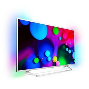 [Amazon Warehouse Deal] Philips 49PUS6412/12, (49 Zoll) LED-Fernseher (Ultra-HD, Smart TV, Android, 2-seit. Ambilight)