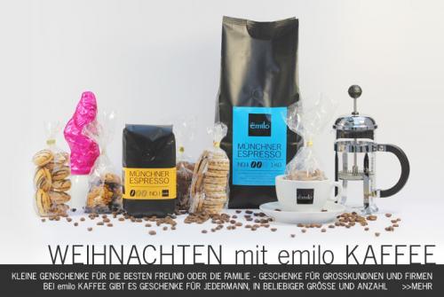 Emilo.de Gourmet Kaffee Aktion: bei Bei Bestellung von 1 Kg gibt es eine Kaffee/Espresso Tasse umsonst & 3% Skonto