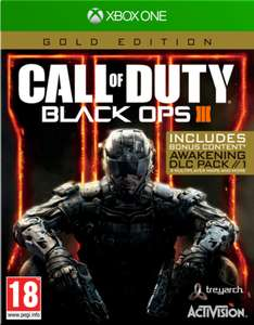 Call of Duty: Black Ops III Gold Edition (Xbox One) für 13,85€ (ShopTo)