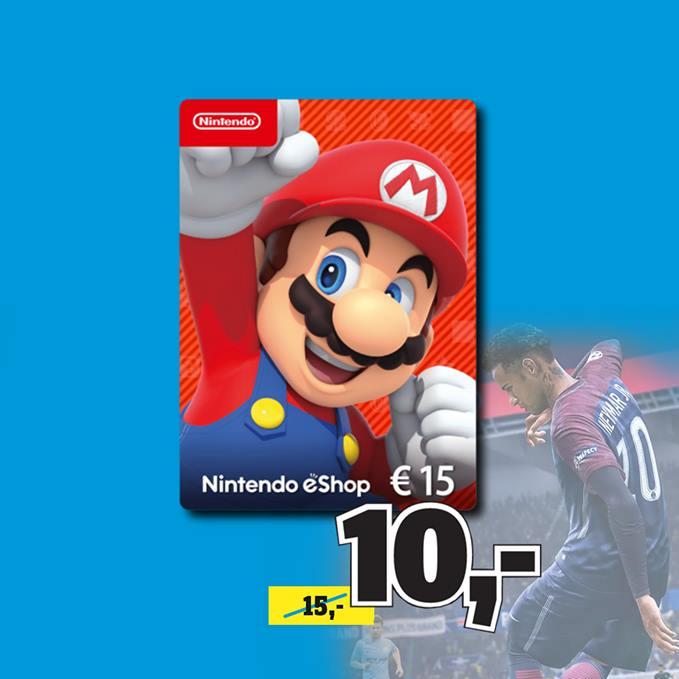 15€ Nintendo eShop-Guthaben für 10€ [Conrad Mannheim / Dresden]