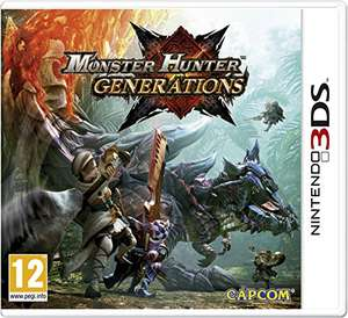 Monster Hunter: Generations (3DS) für 12,66€ (Amazon FR)