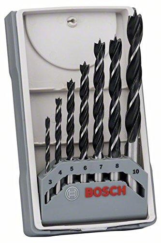 Bosch Professional 7tlg. Holzspiralbohrer-Set [Amazon Prime]