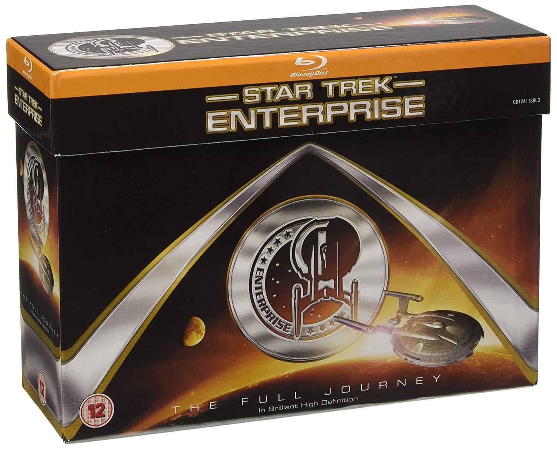 Star Trek: Enterprise - Die komplette Serie (Blu-ray) für 32,25€ inkl. Versand (Zoom UK)