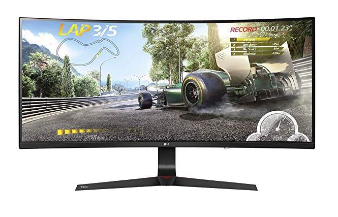 "34"" Ultrawide Monitor LG 34UC89G NVidia G-Sync 144Hz IPS 2560x1080 21:9"