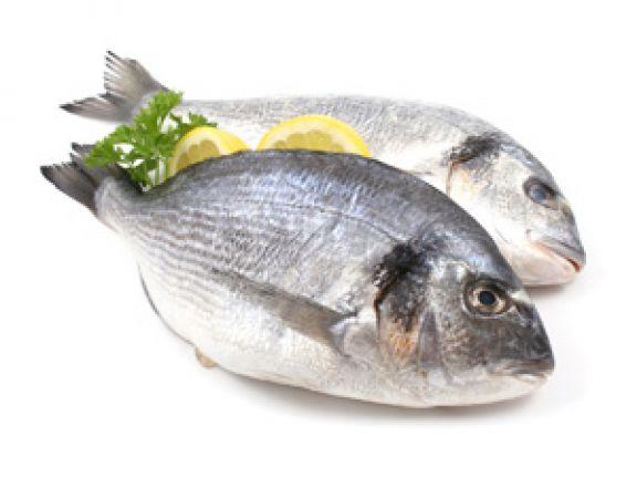 Dorade für 5 Euro pro Stück bei Rewe (mit Fischtheke)