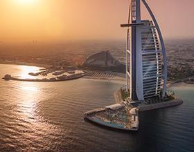 Dubai Burj Al Arab  25% Ermäigung incl Frühstück (+ Upgrade) + Hermes