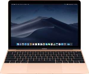 Apple MacBook 12 - Intel Core m3-7Y32, 8GB RAM, 256GB SSD, 920g, lüfterlos, Tastaturbeleuchtung, gold [2018] [Z0VN] (MRQN2D/A)