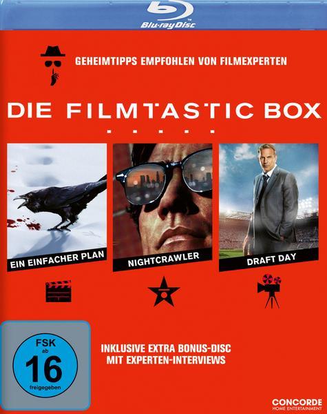 Ein einfacher Plan + Nightcrawler + Draft Day (Blu-ray) für 8,19€ inkl. Versand (Thalia Club)