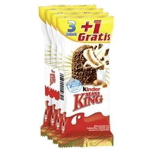 Kinder Maxi King 4er-Pack für 0,88€ bei Kaufland