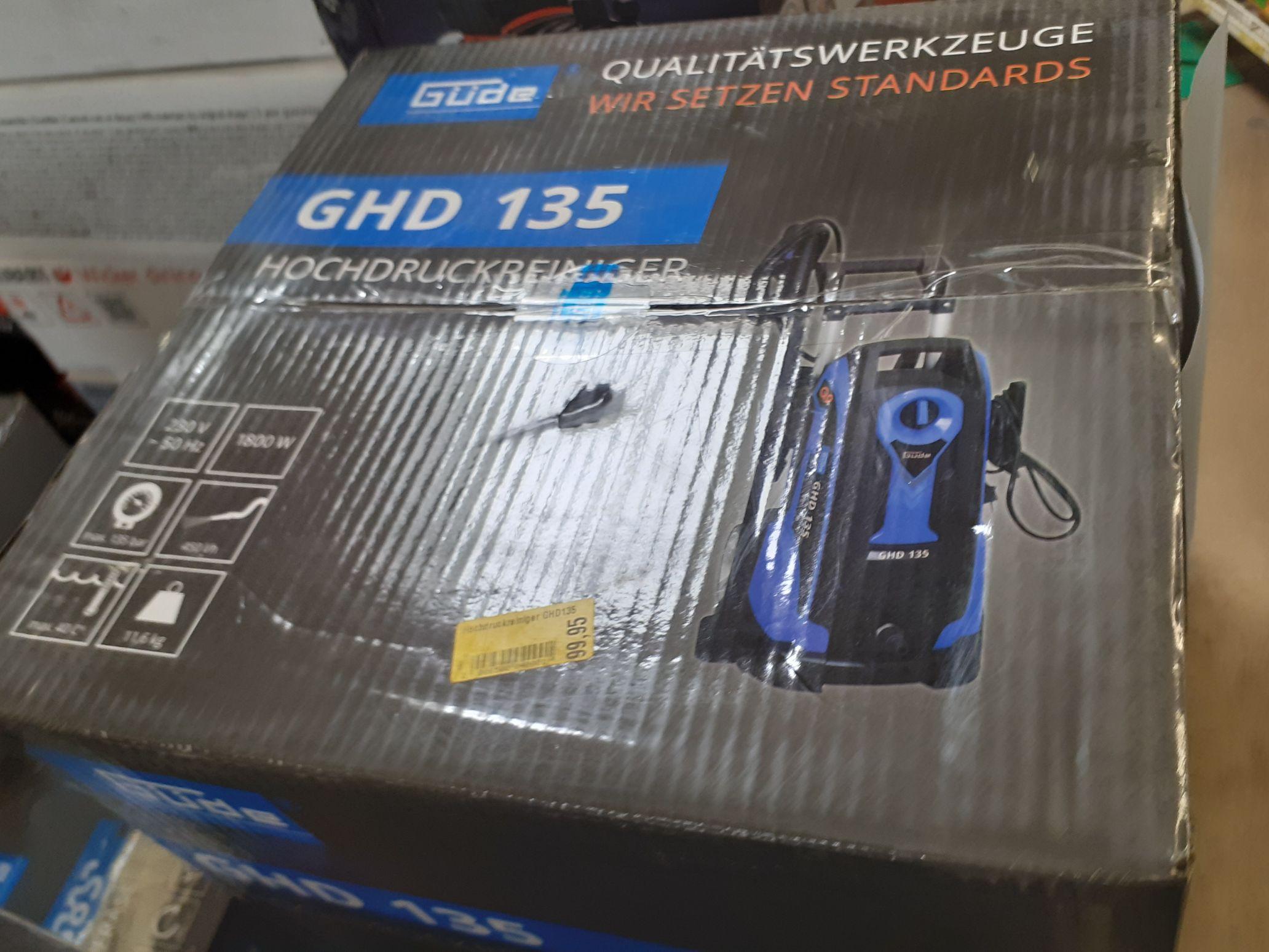 Hochdruckreiniger Güde GHD 135 beim Räumungsverkauf Thomas Phillips Grevenbroich
