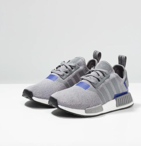 Allerletzte Chance: adidas Originals NMD_R1 in Grau-Blau (Gr. 36-45 1/3) mit 33% Rabatt