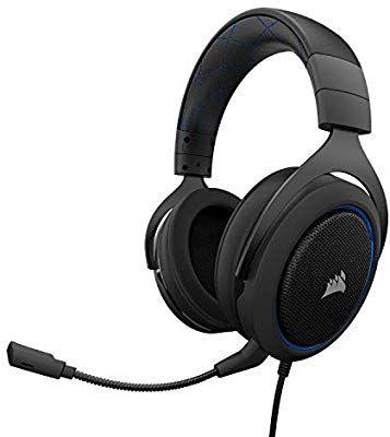 Corsair HS50 Gaming Headset + Gratis Corsair MM100 Gaming Mauspad [Amazon]