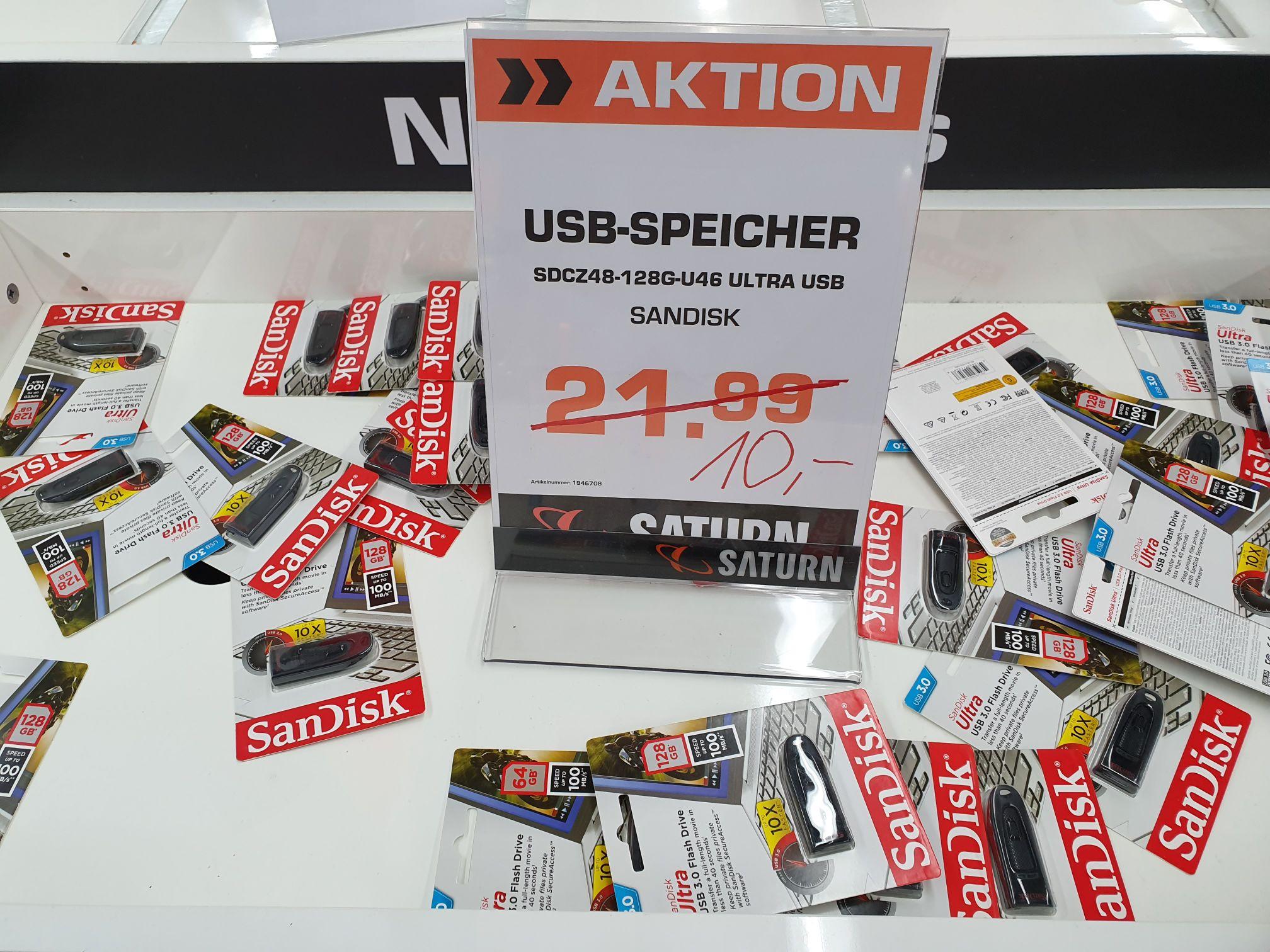 Sandisk USB3.0, 128 GB [Berlin, Saturn Europacenter]