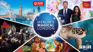 [LONDON] Merlin 5 Attraktionen (London Eye/ Madam Tussauds/ London Dungeon/ SeaLife/ Shrek @Expedia--48€ Erw. -- 38€ Kinder