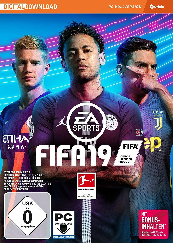 Fifa 19 (Origin-Code) für 12.99€ (Amazon)