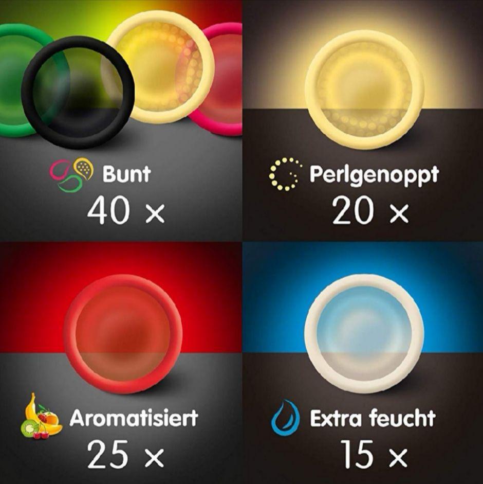 Billy Boy 100er Beutel Mix-Sortiment Kondome, zusätzlich 5/15% Spar-Abo möglich