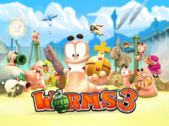 Worms 3 (Android) für 2,79