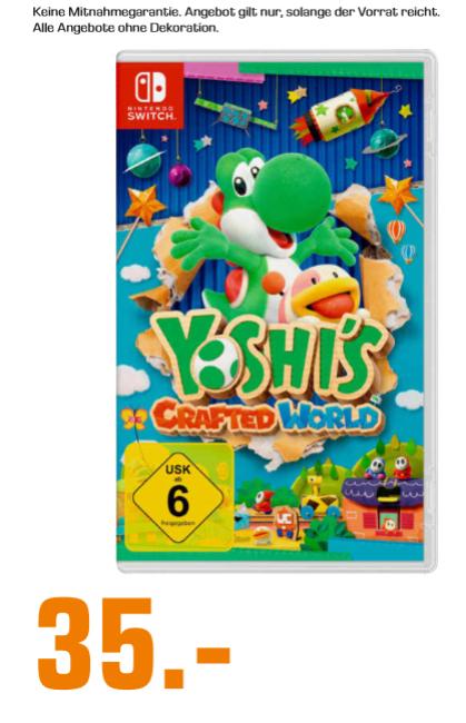 [Lokal: Saturn Zwickau] Yoshi's Crafted World (Switch)