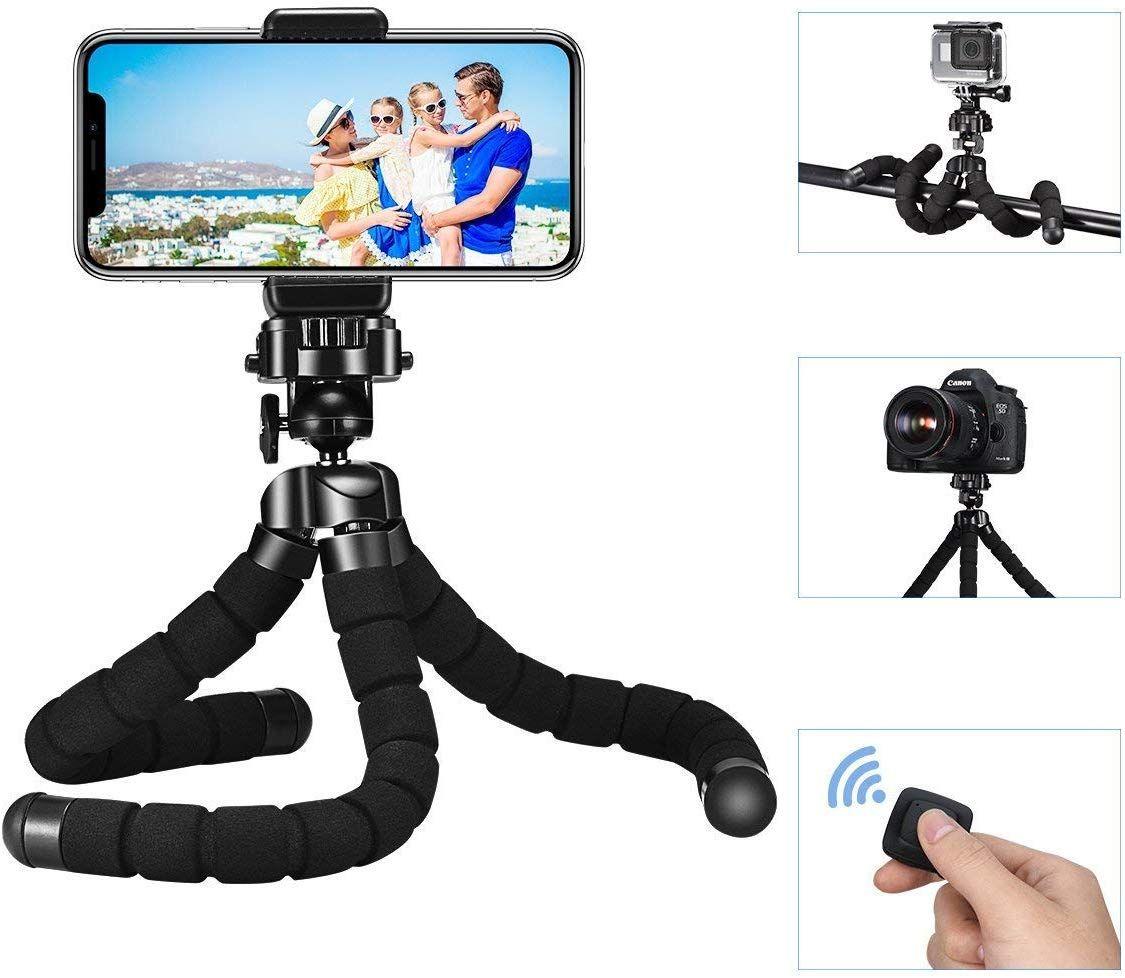 [Amazon Prime] Mpow Flexibel Kamera Stativ Bluetooth - GoPro und Smartphone geeignet