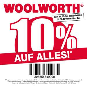 10 % bei Woolworth