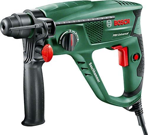 Bosch Bohrhammer PBH 2100 RE, Tiefenanschlag, Zusatzhandgriff, Koffer (550 W, 20 mm max. Bohr-Ø in Beton)