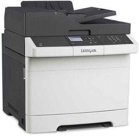 Farblaser-Multifunktionsgerät Lexmark CX317dn (Drucker/Scanner/Kopierer, 23/23 S/min, 250 Blatt, Duplex, ADF, LAN, USB, 4 Jahre Garantie)