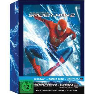 The Amazing Spider-Man 2: Rise of Electro - Limited Lightbox Edition (2 Disc Blu-ray + UV Copy) für 16,93€ (Alphamovies)